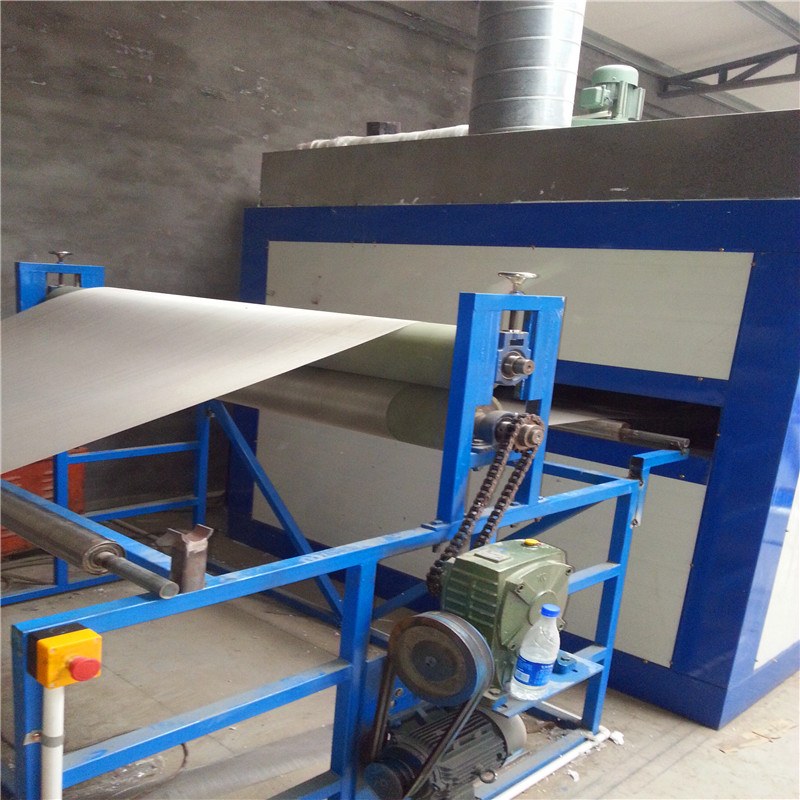 Horizontal Powder Coating Machine 01