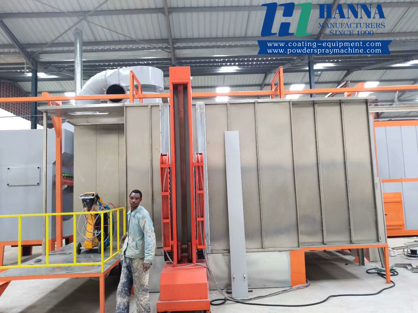 powder coating machine powder coating booth