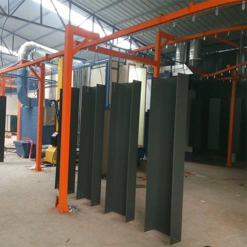 Steel and Wood Furniture Powder Coating System