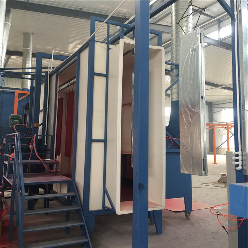 Electric Cabinet Powder Coating Curing Oven