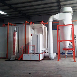 Fast Automatic Color Change Powder Spraying Room
