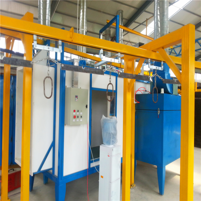 Powder coating for plastic products