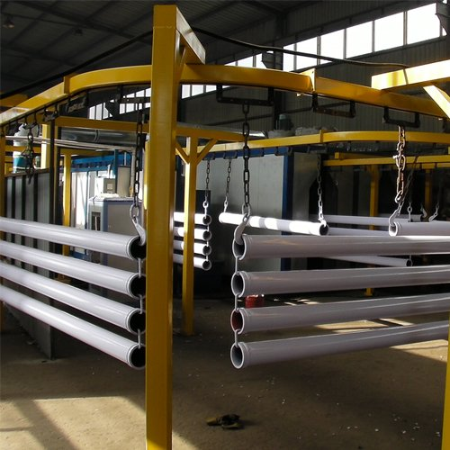 Steel Pipe Inner and Outside Powder Coating Line
