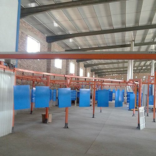 Sheet Metal Powder Coating Line8