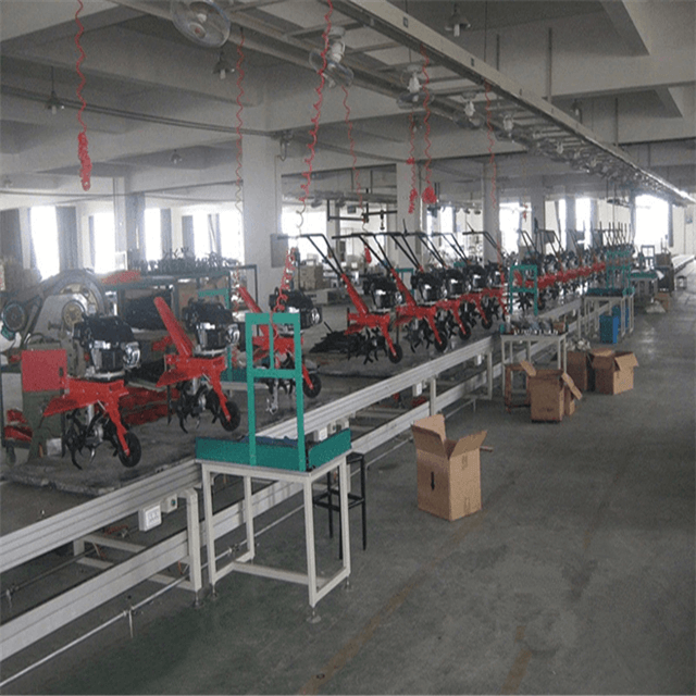 Agricultural Machinery Parts Coating